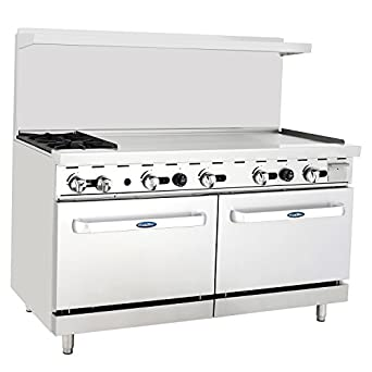 Amazon Com Cookrite Natural Gas Range 2 Burner Countertop Hotplates