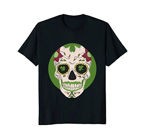 Sugar Skull St Patricks Day Irish T-Shirt Cinco de Mayo (Sugar Boys T-shirt)