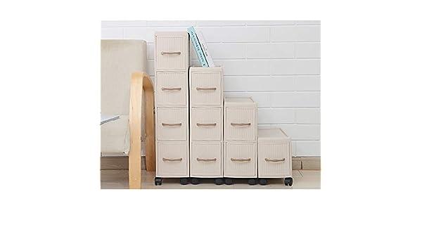 Feixunfan Mueble de baño Estantes Cajonera Gabinete De Almacenamiento For El Dormitorio Baño Alto Tallboy Armario S para baño en casa (Color : White, Size : 18X43X64cm): Amazon.es: Hogar