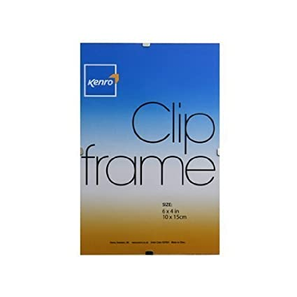 Pack Of 4 Clip Frames Choose Your Size Shop Inc 6x4 10x15cm Amazoncouk Kitchen Home