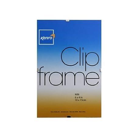 Pack Of 4 Clip Frames Choose Your Size Shop Inc 6x410x15cm