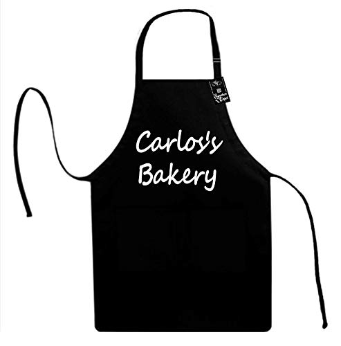 Signature Depot (Carlos's Bakery (Baker, Chef, Food) Unisex Adult Novelty Apron
