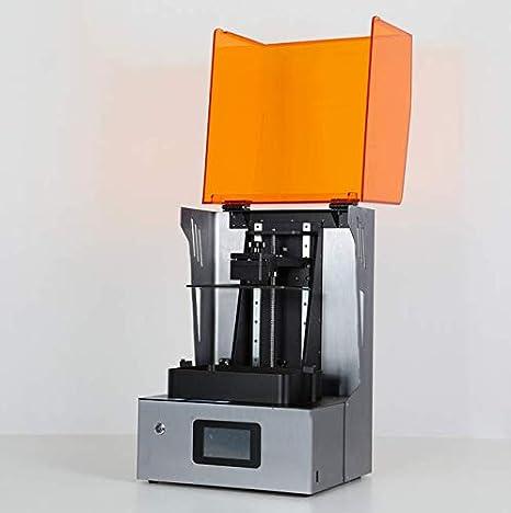 0,075 Mm Estereolitografía Pantalla LCD Impresora 3D Resina ...