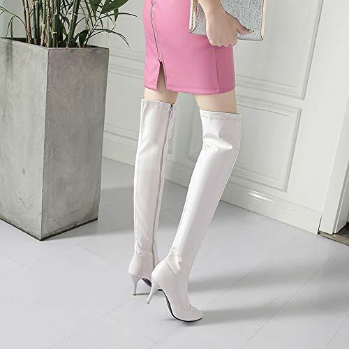 Bianco Y2Y Studio Donna Donna Stivali Stivali Y2Y Studio 8w0xq6ft