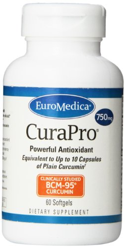 Euromedica CuraPro 750 mg 60 gels by Euromedica