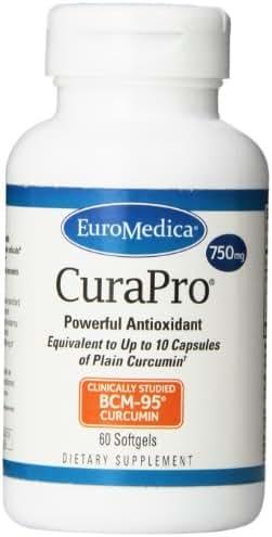 Euromedica CuraPro 750 mg 60 gels