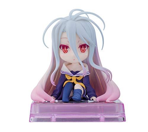 白(PVC製) 「ノーゲーム・ノーライフ」 スマホスタンド美少女キャラクターコレクション No.11