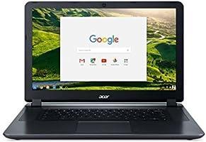 "2018 Acer 15.6"" HD Premium Business Chromebook-Intel Dual-Core Celeron N3060 up to 2.48Ghz Processor, 2GB RAM, 16GB SSD, Intel HD Graphics, HDMI, WiFi, Bluetooth, Chrome OS-(Certified Refurbished)"