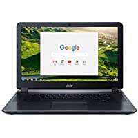 Acer 15.6 HD High Performance Student Chromebook-Intel Dual-Core Celeron N3060 Processor, 2GB RAM, 16GB SSD, Intel HD Graphics, HDMI, WiFi, Bluetooth, Chrome OS-(Certified Refurbished)