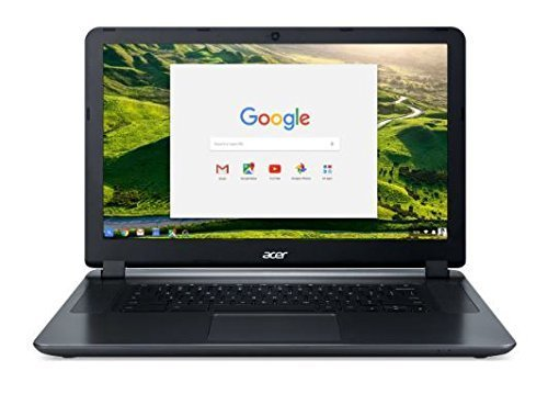 "2018 Acer 15.6"" HD Premium Business Chromebook-Intel Dual-Core Celeron N3060 up to 2.48Ghz Processor, 2GB RAM, 16GB SSD, Intel HD Graphics, HDMI, WiFi, Bluetooth, Chrome OS-(Certified Refurbished)"