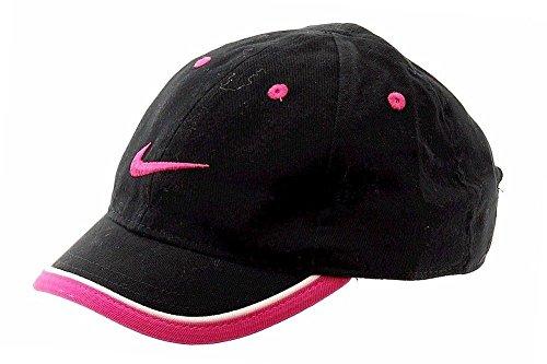 Nike Summer Visor - Nike Girl's Pink Power Swoosh Logo Adjustable Hat Baseball Cap, Size 4-6X
