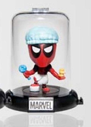 Marvel Deadpool Collectible Original Mini's Domez ~ Bath Time Rubber Ducky (Opened to Identify) (Original X Men Costumes)