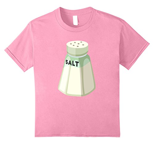 Kids Salt Shaker T-Shirt Halloween Costume for Couples Top Tee 10 Pink