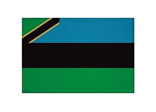 U24 toppa Zanzibar con Stemma Applicazione Patch 9 x 6 cm