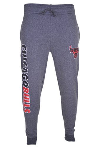 UNK NBA Adult Men Jogger Pants Active Overtime Fleece Sweatpants, Charcoal, X-Large