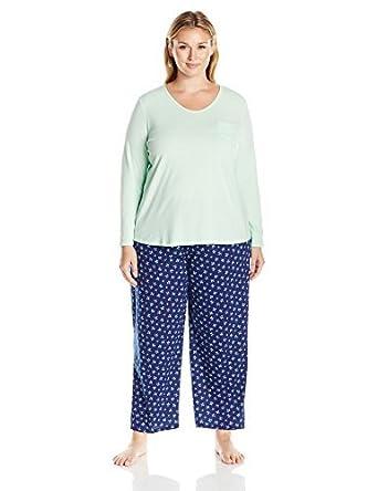 Women/'s Jockey Plus Size Pajamas 1X
