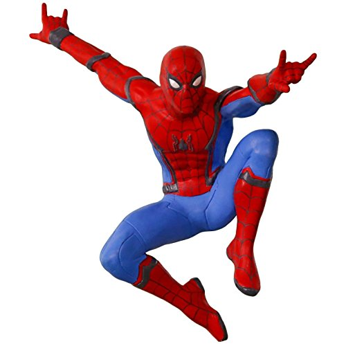 Hallmark Keepsake 2017 Spider-Man: Homecoming A New Kind of Hero Christmas Ornament by Hallmark