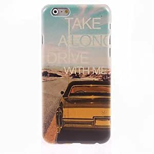 JOE Car Design Hard Case for iPhone 6