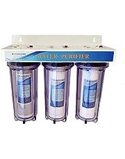 """FINERFILTERS 3 Stage 10 """"HMA Zware Metaal Vermindering Water Filter Systeem met Hozelock compatibele Verbindingen"""