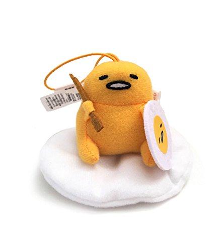 Sanrio Gudetama Lazy Egg Strap Plush Mascot ~ Gudetama Knight Egg ~ RPG Game Series Type C -