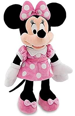 "Disney 18"" Minnie Mouse in Pink Dress Plush Doll from Disney"