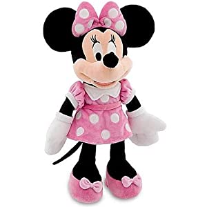 "disney 18"" minnie mouse in pink dress plush doll - 41HmloDx0mL - Disney 16″ Minnie Mouse in Pink Dress Plush Doll"