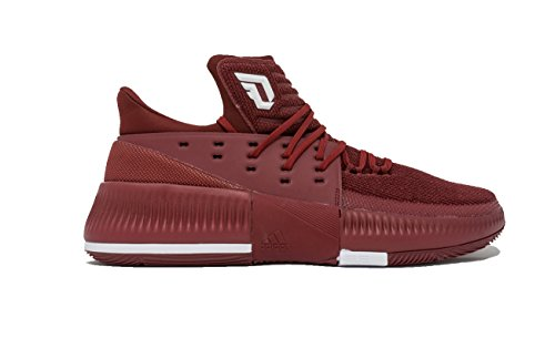 Adidas Dame 3 Nba / Ncaa Sko Mænds Basketball Kollegialt Bordeaux-hvid ctpibRoyle