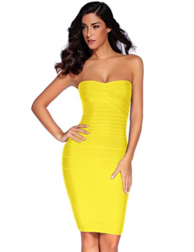 high low bandage dress - 5