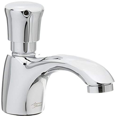 (American Standard 1340119.002 Pillar Tap Metering Faucet with Extended Spout 0.5 GPM)