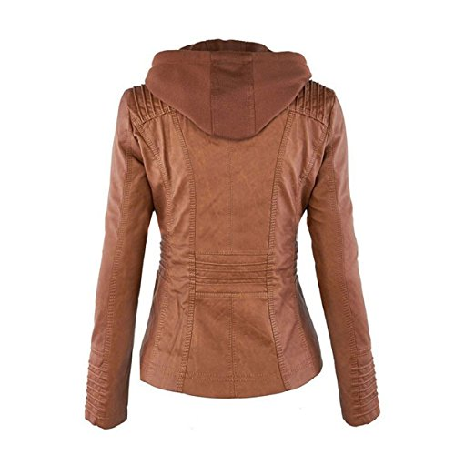 Manches Femme Longues Blouson Braun COCO clothing 1 RHqPEtw
