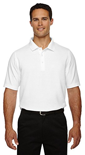 (Devon & Jones Men's Drytec Performance Polo Shirt, WHITE, XX-Large)