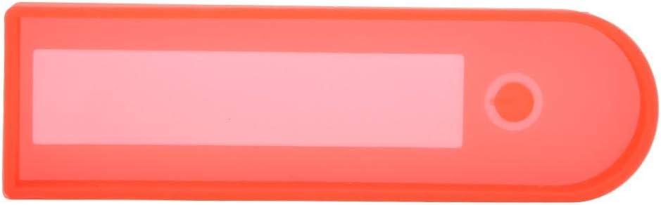 Alomejor Elektroroller Armaturenbrett Schutzabdeckung Instrumentenabdeckung aus Silikon-Antikollision Gummi f/ür Ninebot MAX G30 Elektroroller