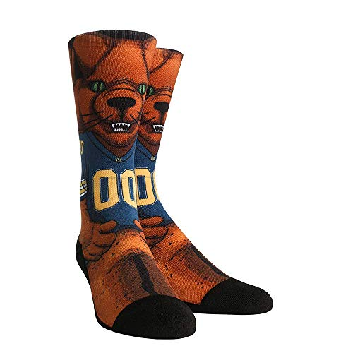 NCAA Super Premium College Fan Socks (L/XL, Pittsburgh Panthers - Mascot) ()