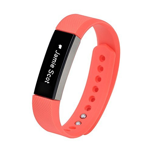 Fitbit Alta Watch Watch Band - TOOGOO(R)Luxury Replacement Silicone Watch Band Strap For Fitbit Alta Watch Wristband Colour:Orange