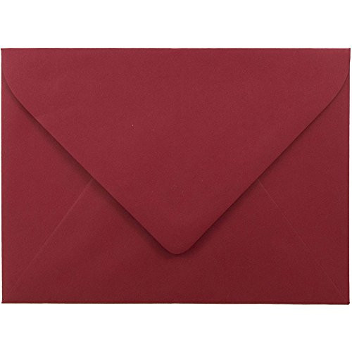 JAM Paper A7 Invitation Envelopes with Euro Flap - 5 1/4