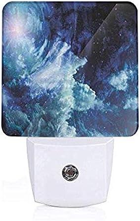 Nebula Gas Cloud enciende/apaga automáticamente la luz nocturna LED: Amazon.es: Iluminación