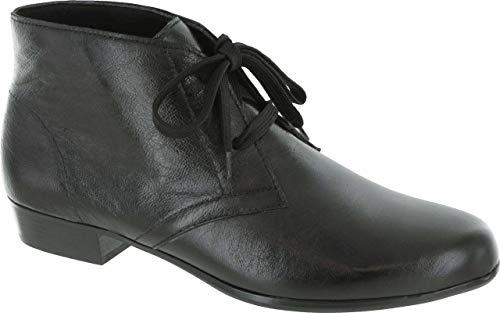 Munro Womens Sloane Leather Closed Toe Ankle Fashion Boots, Black Kid, Size 7.0