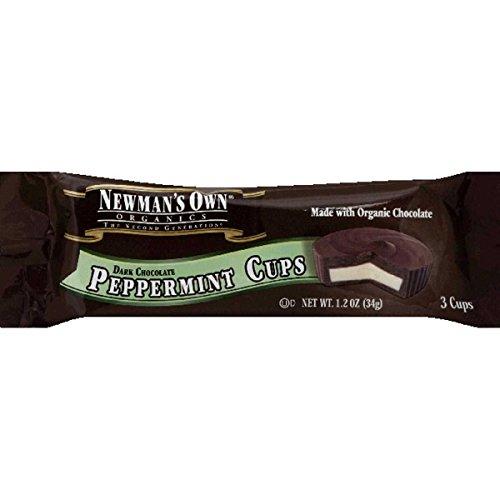 Newmans Own Organic Chocolate Cup Dark Peppermint, 1.2 lb