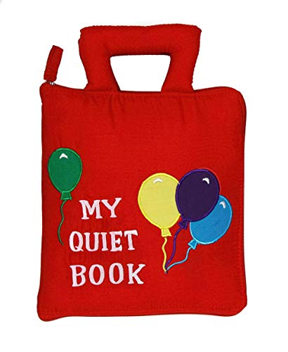 Pockets of Learning My Quiet Book Activity Busy Book for Toddlers and Children Original Quiet Book