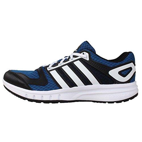 Adidas Men's Galaxy M, BLUE/ZEROMT/BLACK, 10 M US