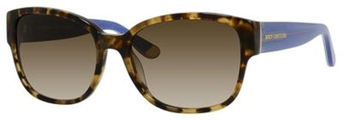 b3c4ebaf644 Amazon.com  Juicy Couture W-SG-3000 Juicy Couture Juicy 573-S 0ESP-Camel  Tortoise Womens Sunglasses  44  57-18-135 mm  Clothing