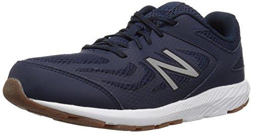 New Balance Boys' 519v1 Running Shoe Pigment/Black 6 XW US Big ()