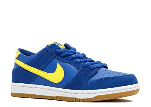Nike Men's SB Zoom Dunk Low Pro, Varsity Royal/Lightening-White