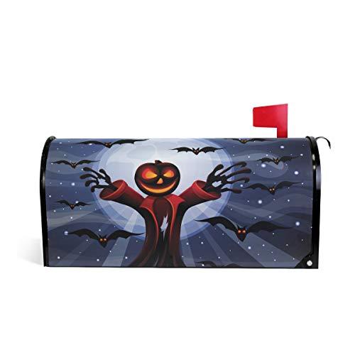 senya Magnetic Mailbox Cover Large Size Halloween Pimpkin, Oversized ()
