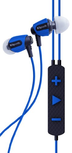 Klipsch Image S4i Rugged - BLUE All Weather In-Ear Headphones