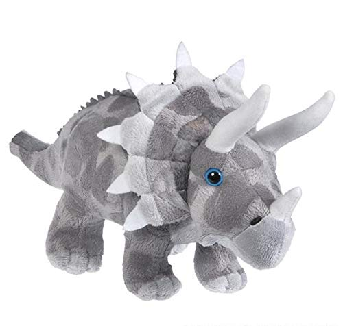 Rhode Island Novelty One Assorted Color Triceratops Dinosaur Plush Stuffed Animal - 13