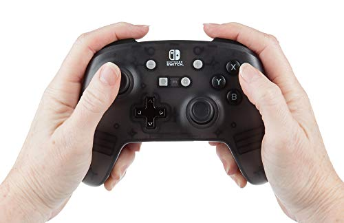 PowerA Enhanced Wireless Controller for Nintendo Switch - Black Frost 4
