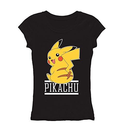 FREEZE Pokemon Pikachu Juniors T-Shirt Licensed ()