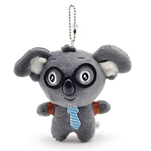 Plush Koala Bear Keychains Toys Stuffed Animal Ornaments Gray 4