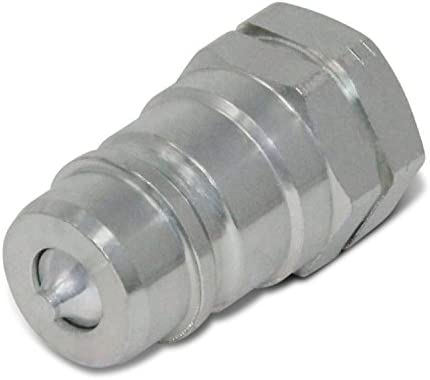 """3//8"""" NPT Poppet Pioneer Faster Brand 8010 3P Hydraulic Male Coupler ISO"""